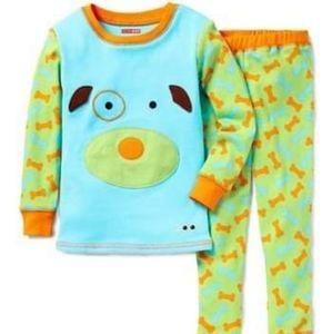 Skip Hop dog Zoojamas size 6T nwt